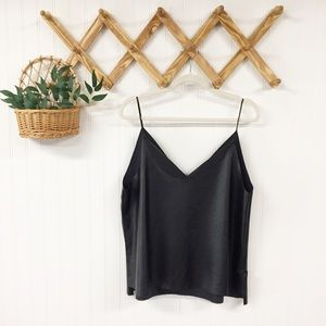 Endless Rose | Faux Leather Cami Top